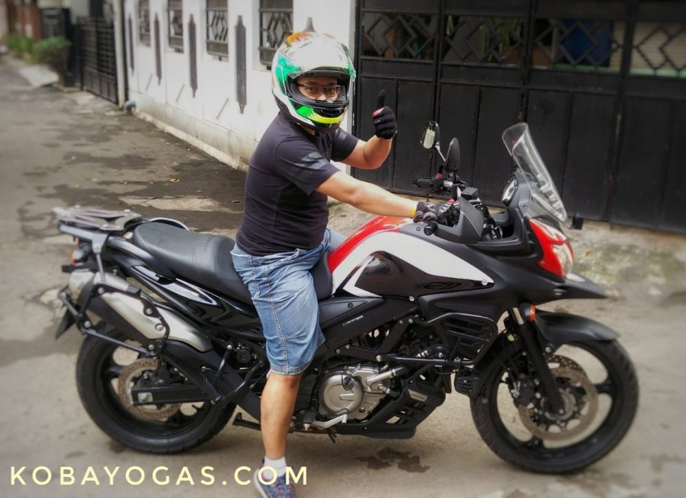Test Ride Suzuki V-Strom 650 V2, Santai, Nyaman, Powerful dan Well Balance! - KobaYogas.COM - Your Automotive Blog